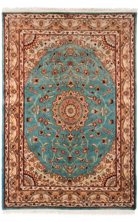 Dywan orientalny PLS wełna ijedwab 123x182 cm